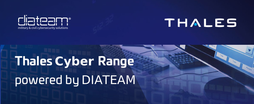 Thales Cyber Range powered by diateam