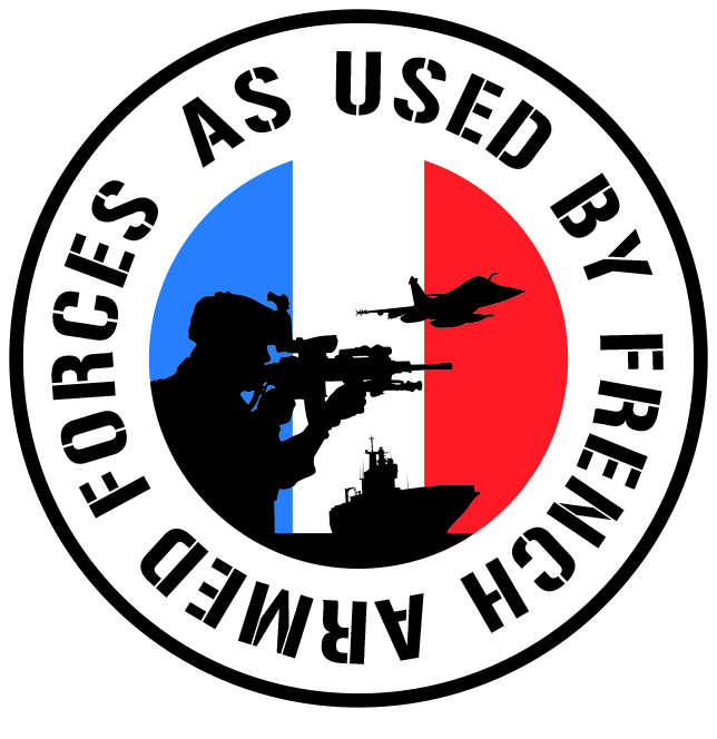 As Used by French Armed Forces